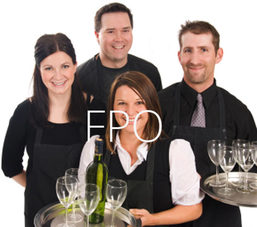 Picture of the staff of Top Shelf Catering Company